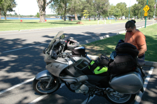PG & the bikes in Kennewick