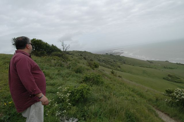 Disposing My Dad's ashes in Eastbourne