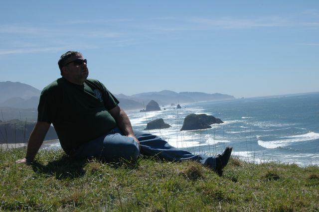 Taking Dad's Ashes to Ecola